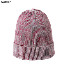 Women Hat For Autumn Winter Knitted Wool Beanies Fashion Hats 2019 New Arrival Casual Caps Good Quality Female
