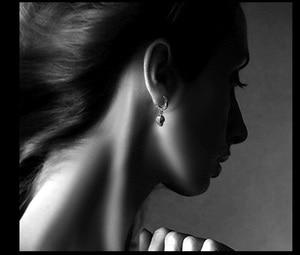 Image 4 - NEW! Vintage 925 Silver Skeleton Earrings Thai Silver Skull Earrings Real Silver Unisex Punk Earrings Jewelry Gift