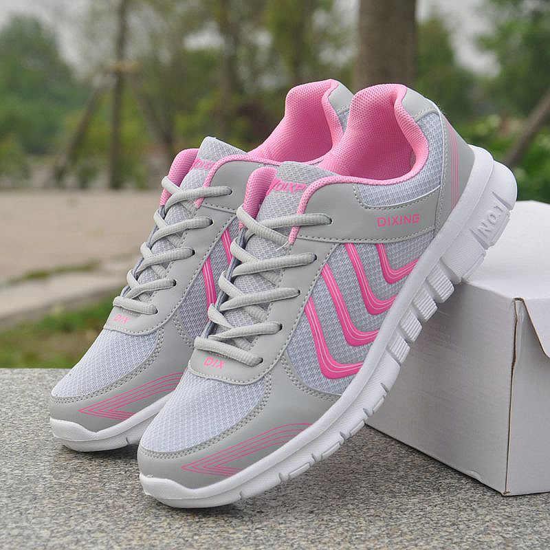 Pattini della piattaforma delle donne scarpe da tennis 2020 di modo solido bianco scarpe da tennis delle donne scarpe scarpe in mesh traspirante scarpe casual scarpe donna tenis feminino