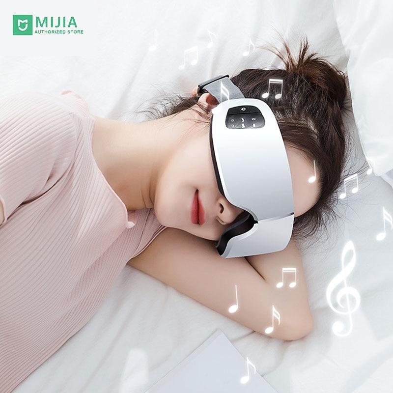 Умная Bluetooth-маска для глаз Xiaomi Onefire с паровым подогревом, USB, термоконтроль, контроль температуры, Уход за глазами, массаж, спа