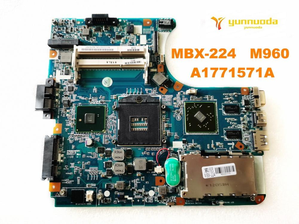 Original For SONY MBX-224 Laptop  Motherboard MBX-224   M960  A1771571A Tested Good Free Shipping