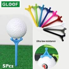 5 шт/компл abs пластиковые тройники для гольфа запасные вождения