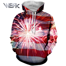 WSFK 2019 usa men and women champion hoodie sweatshirt 3D printing anime large size S-6XL