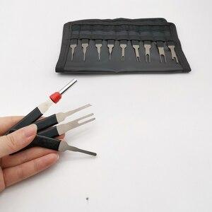 Image 5 - Kit de extracción de terminales de coche, pinza de presión para cables, Pin Extractor, herramientas de mango profesional, 18 Uds.