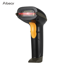 Aibecy USB Barcode Scanner Handheld Wired Bar Code 1D CCD Reader with Cable for Store Supermarket Warehouse Library