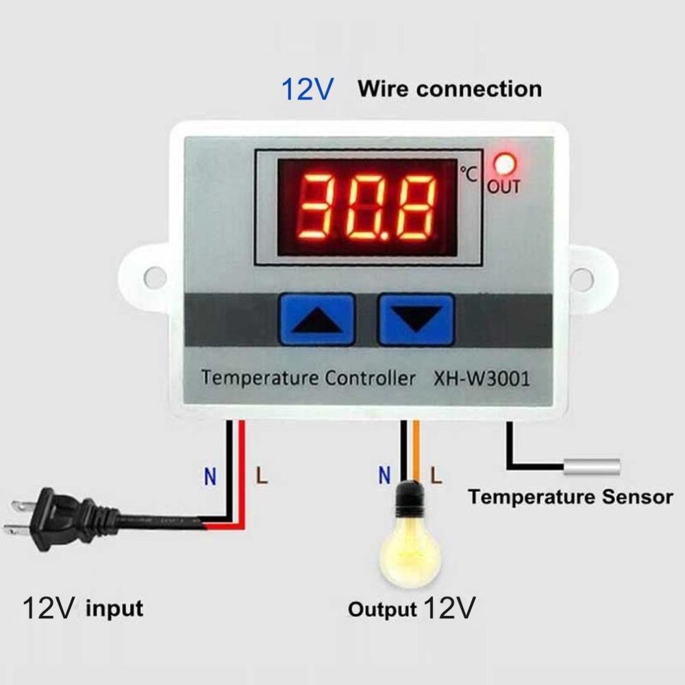 temperatura digital, termostato, interruptor de sonda à