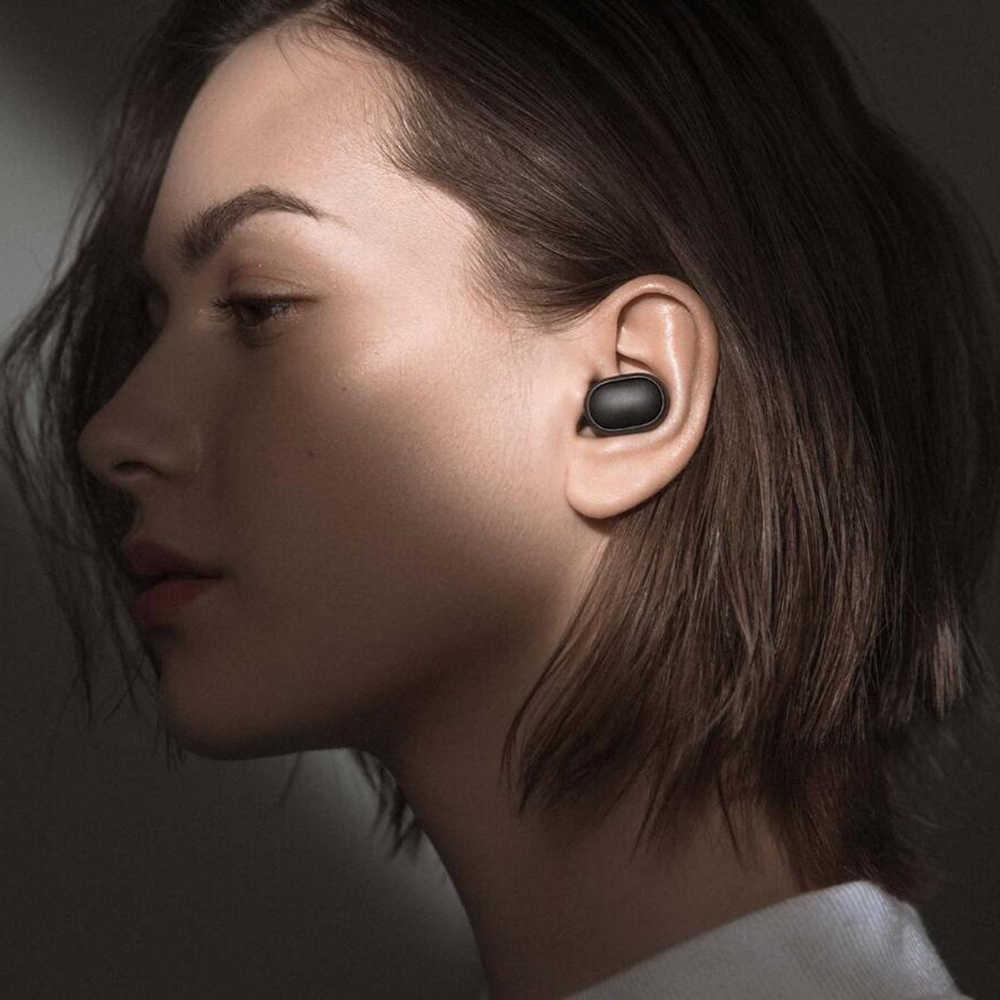 Chính Hãng Xiaomi Redmi Airdots TWS Không Dây Tai Nghe Bluetooth Chụp Tai Bass Bluetooth 5.0 Có Mic Thoại Rảnh Tay Ai Điều Khiển Tai Nghe