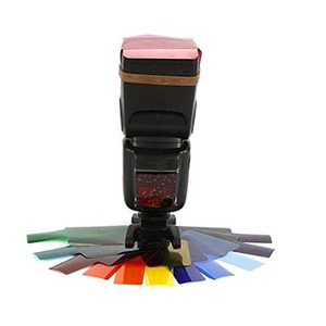 Image 5 - Speedlite Opelカメラ用フィルターカード,12色または20パック,フラッシュ,カラー,カメラ,ニコン,フォーカス用