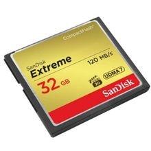 Sandisk Extreme 32GB CF tarjeta flash compacto 32G tarjeta de memoria de alta velocidad 120 MB/s apoyo 1080P Full HD video para DSLR/DV
