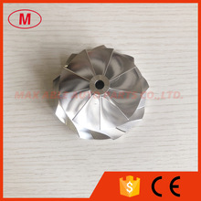 Compressor-Wheel 9 0blades-Point-Millingmilling/aluminum G35-90061.75/76.60mm 2618/billet