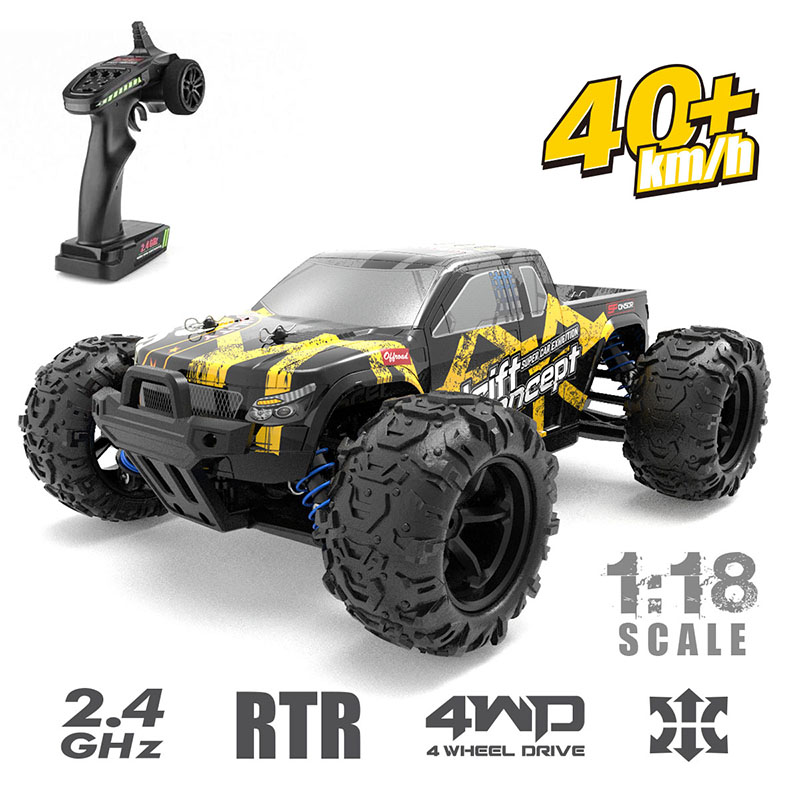 1:18 4WD <font><b>RC</b></font> Car Radio Control 2.4G High Speed Truck Off-Road Truck Toys Car Remote Control <font><b>Drift</b></font> Driving Car Gift Toys For Kids image