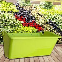 벽 교수형 수직 꽃 냄비 화분 즙이 많은 식물 분재 꽃병 홈 정원 장식|꽃 병 & 화분|   -