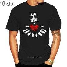 Maglietta da uomo emo love maglietta nera maglietta maglietta da donna