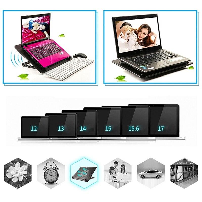 Pad Notebook Base Do Cooler Ventilador Do