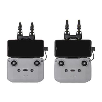 Akcesoria kontrolera pilot antena wzmacniająca sygnał wzmacniacz sygnału anteny dla DJI Mavic Air 2 Mini 2 tanie i dobre opinie VAKIND NONE CN (pochodzenie) 42 g Signal Booster 9 5x6 8x3 6cm Amplifier for DJI Mavic Air 2 Remote Control Signal Booster