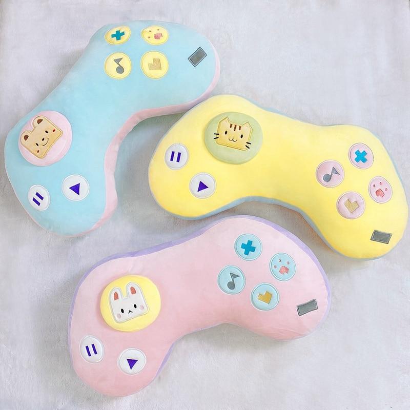 Kawaii Game Console Controller Pillow Plush 1