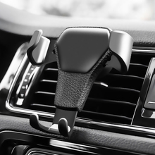 Gravity Auto Phone Holder For Phone in Car Air Vent Clip Mou