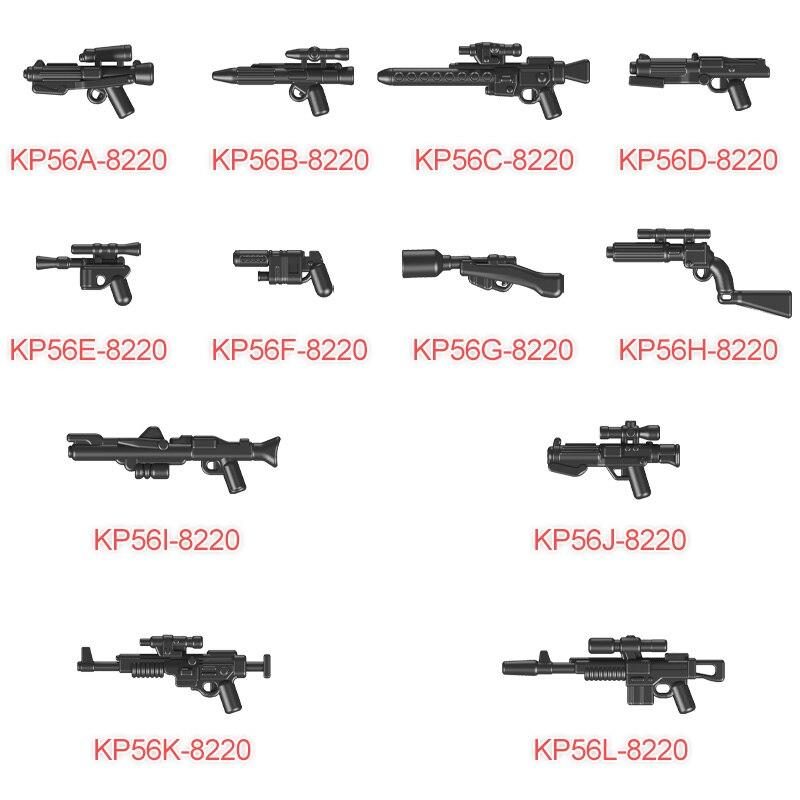 50 шт./компл. оружие пакеты в форме головы солдата-клона из Blasters/город оружие полицейских военные аксессуары, строительные блоки, игрушки для ...