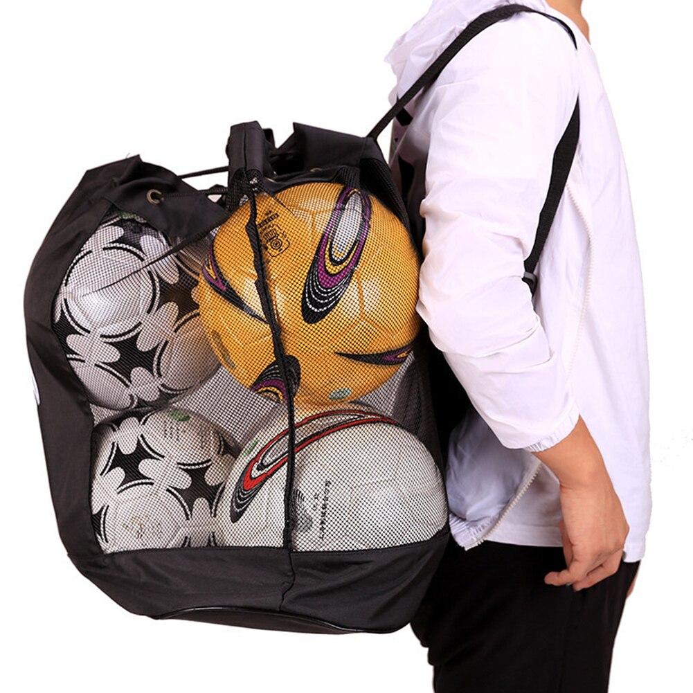 Saco de bola de malha equipamentos esportivos