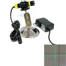 Фокусируемый поперечная балка зеленый свет 515nm лазерный модуль