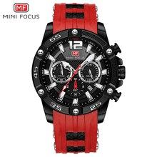 MINI FOCUS Relojes de pulsera para Hombre, de cuarzo, de diseño de lujo, deportivo, resistente al agua, masculino
