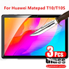 3 Pcs Tempered Glass For Huawei MatePad T10S 10.1 2020 AGS3-W09 AGS3-L09 Tablet Screen Protector Glass Film for MatePad T10 9.6