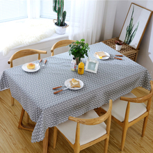 Linen Tablecloth Cotton Flax Rectangular Waterproof Oilproof Dining Table Cover Tea Table Cloth Home Kitchen Table Decor D30 europe style cotton linen table cloth country style solid multifunctional table cloth rectangular table cover home kitchen decor