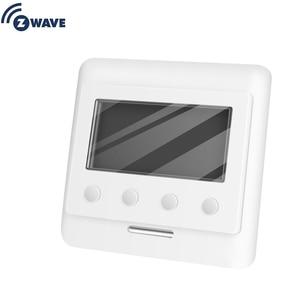 Image 1 - Haozee Z Wave Plus termostat sterowanie ogrzewaniem podłogowym bezprzewodowy elektryczny system grzewczy inteligentna automatyka domowa