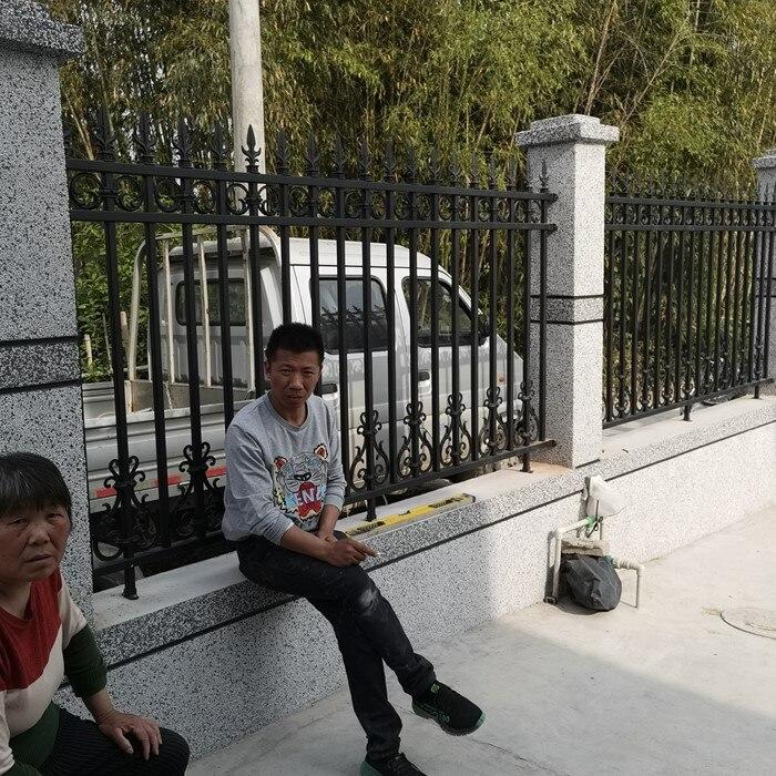 Hench Shanghai China Wholesale Aluminum fence pancel metal fence garden fence custom made HC-fence1