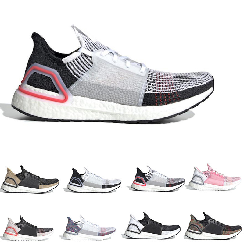 Ultra boost 2019 Ultraboost 5.0 mens Running shoes Refract Clear Brown Primeknit sports trainers men sneakers size 7-11