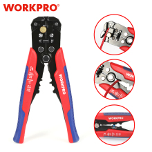 WORKPRO Crimper Cable Cutter Automatic Wire Stripper Multifunctional Stripping Tools Crimping Pliers Terminal