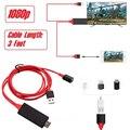 USB Женский HDMI кабель HDTV телефонный адаптер для iPhone XS MAX XR 6 7 8 Plus Samsung galaxy S8 S9 S10 Note8 Note9 Android iOS to TV