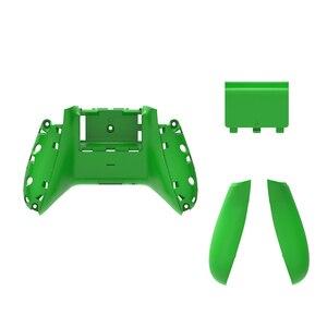 Image 5 - RETROMAX pour Xbox One étui mince dos avec poignées et couvercle de batterie pour Xbox One mince contrôleur sans fil coque arrière 10 couleurs