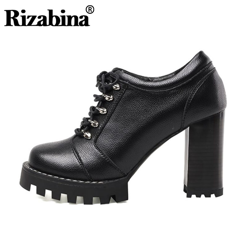 RizaBina CarziCuzin Women Fashion High Heel Ankle Boots