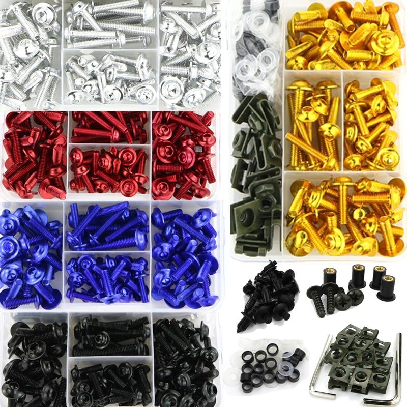 Full Fairing Bolts Kit Screws Fasteners Kit For Ducati Monster 695 696 Monster 796 797 Monster 821 1200 Monster 1200S 1200R