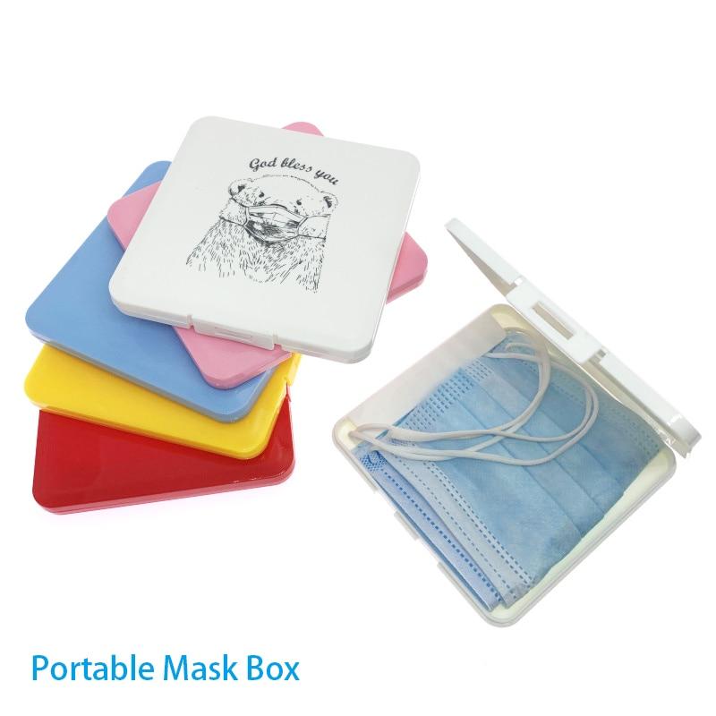 Коробка для хранения масок, банка для хранения карт, маска для рыбалки, аксессуары, пластиковая коробка для хранения, прямоугольная Бытовая коробка для хранения|Коробки и ящики для хранения|   | АлиЭкспресс - Товары для здоровья: лучшее с Али