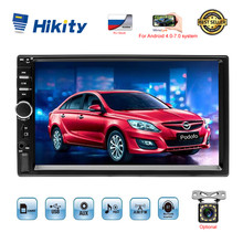 "Hikity 7018B 2 Din Mobil Radio 7 ""HD Touch Screen Stereo 2din Bluetooth Multimedia MP5 Player USB Auto Radio mobil Monitor Cadangan(China)"