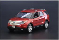 High simulation 1:18 2015 Ford EXPLORER XLT alloy car model,off-road SUV car decoration,exquisite gift collection,free shipping