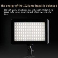 Portable 192Pcs LED Shooting Light SLR Camera Fill Light Video Camera Live Light Suitable For Most SLR Cameras A13 21 Dropship