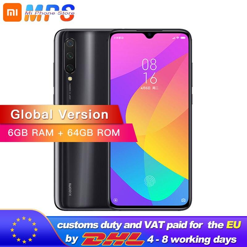 Global Version Xiaomi Mi 9 Lite (CC9) 64GB 6GB Mobile Phone Snapdragon 710  Phone 48MP Triple Camera 32MP Front Camera 6.39