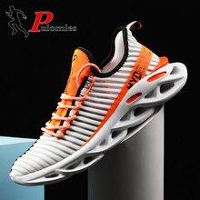 цена Men Sneakers Men Casual Shoes Women Breathable Shoes Men Sport Shoes Platform Sneakers Men Runnning Shoes Couple Shoes 48 Size онлайн в 2017 году