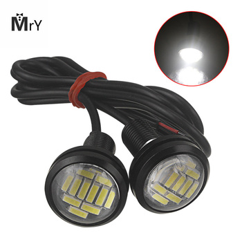12V Eagle Eye LED Light 12SMD 23MM Car DRL Daytime Running Waterpproof Light Motorcycle Screw Lamp Backup Signal Light Bulb suggestions for iran and the world