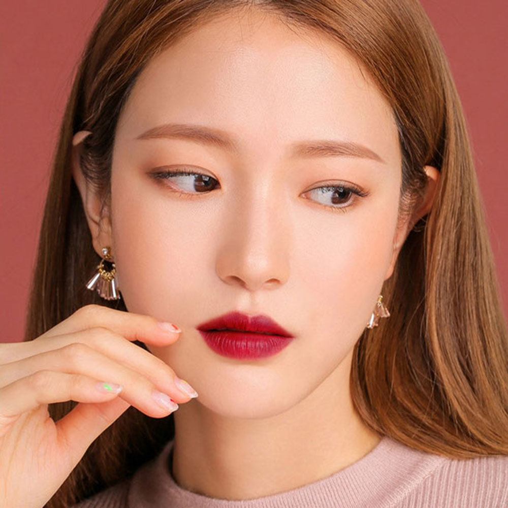 Waterproof Matte Lipstick Makeup Professional Long Lasting Red Lip Tint Matte Lipstick Shimmer Lip Woman Korean Cosmetic Beauty 2
