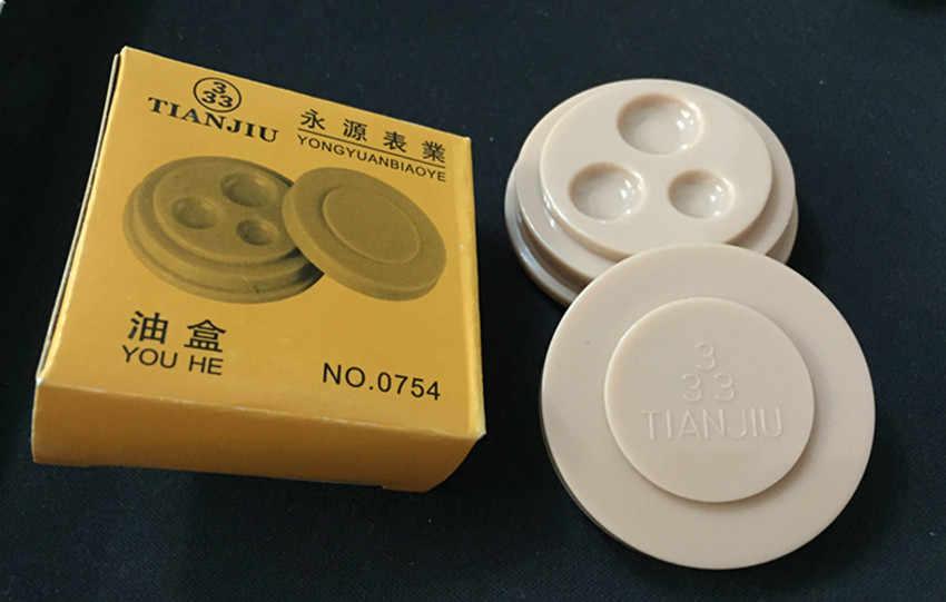 修復表ツールオイルディスク時計のメンテナンスポイントオイルツール 3 オールインワンオイルディスクオイルパン
