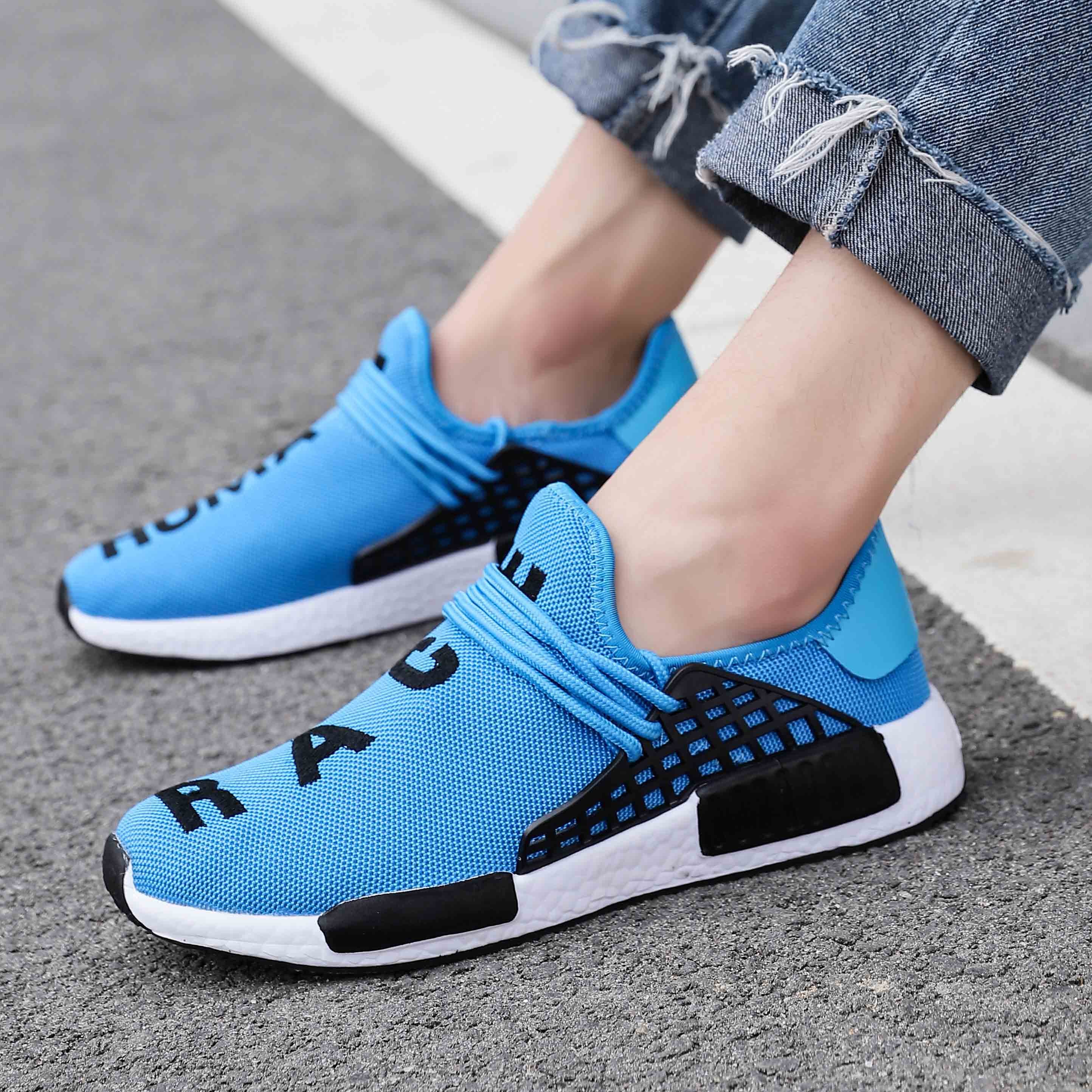 2019 Summer Men Fashion Sneakers Lace Up Casual Shoes For Man Breathable Male Walking Sneaker Shoes Big Size 13