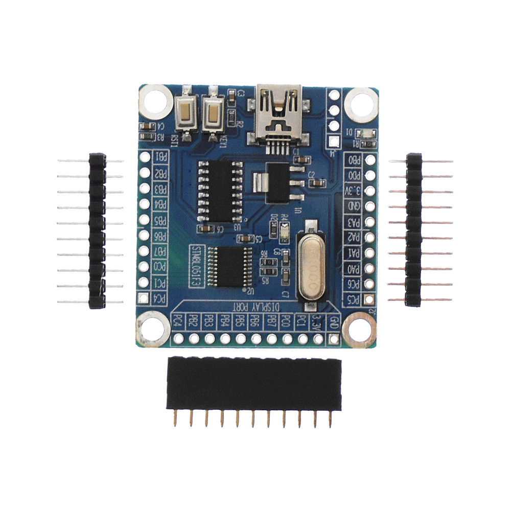 STM8L051F3 Development Board Stm8 Development Board STM8L051F3P6 Development Board Stm8l051 Stm8l151