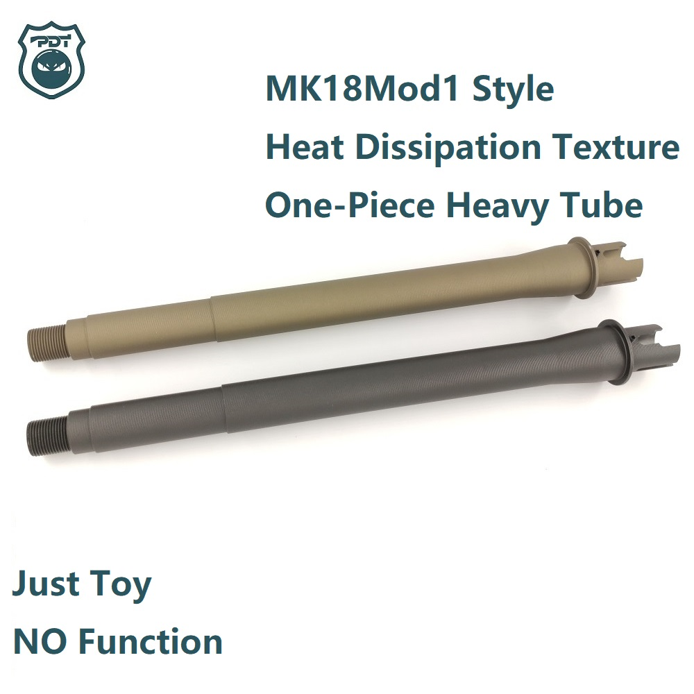 JingMing J9 Gen9 Kublai K1 K2 K2S RISII Rail Handguard Gel Blaster AEG Airsoft 9'' MK18mod1 Socom Barrel Metal Outer Tube
