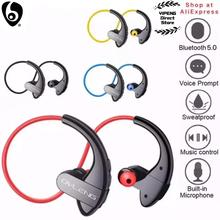 OVLENG auriculares inalámbricos S13 con Bluetooth, dispositivo manos libres con micrófono para dispositivos inteligentes, deportivos, resistentes al agua