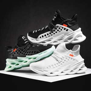 Image 2 - Cool mens basketball shoes shock absorption breathable casual sports shoes non slip sports outdoor running shoes Zapatos Hombre