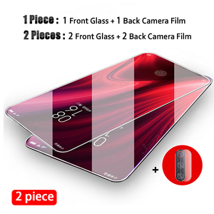2 Pieces Screen Protector Camera Lens Film for Xiaomi Redmi K30 K20 Pro Tempered Glass on for Redmi 9 8 7 8A 7A Protective Glass(China)